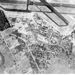 Aerial photograph of Casanova Oak Knoll Neighborhood Circa 1946