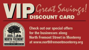 Get Your North Fremont Business District VIP Discount Card
